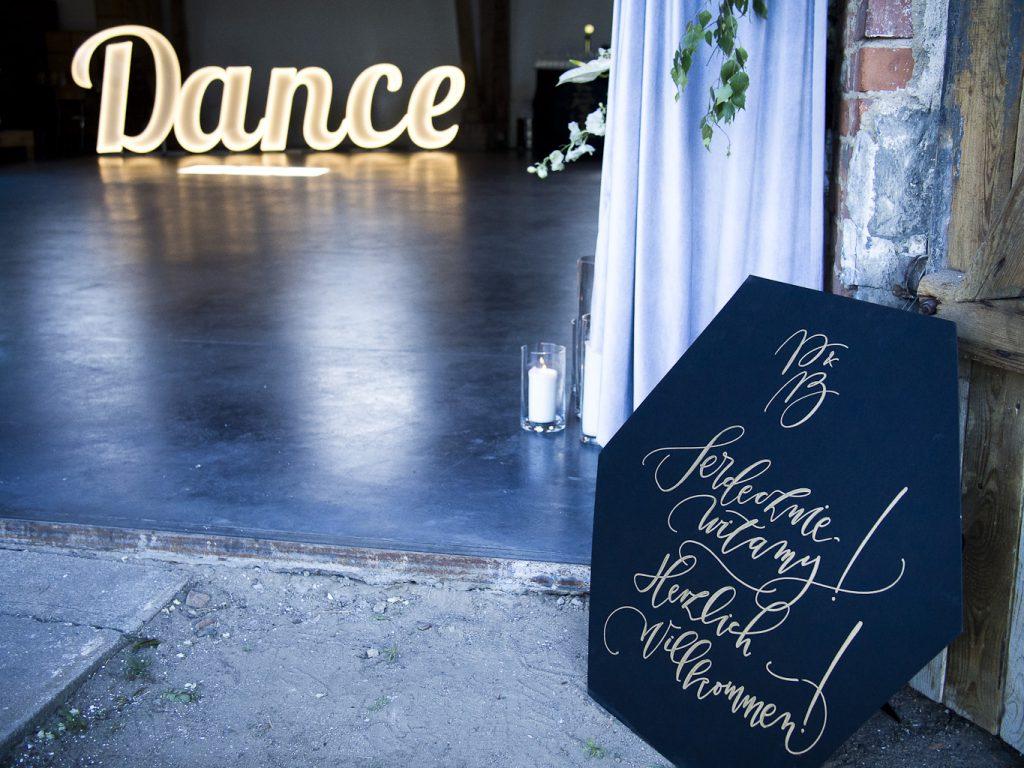 napis dance wesele
